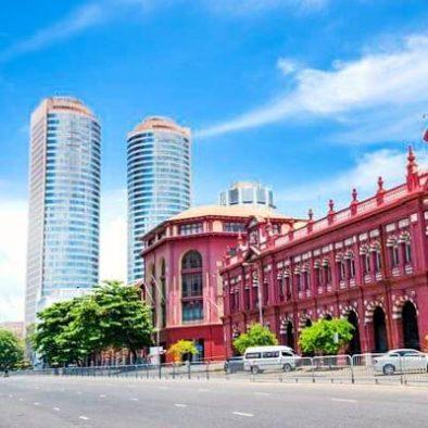 Kolonialer und moderner Architektur