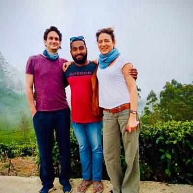 Deutscher Reiseleiter in Sri Lanka