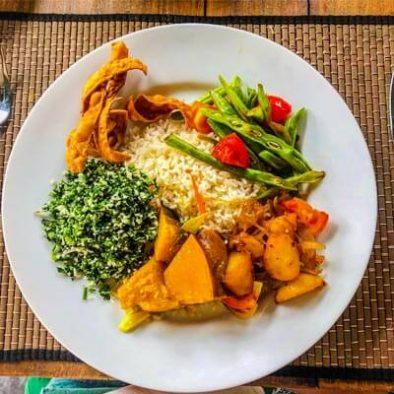 Sri Lanka Mittagessen