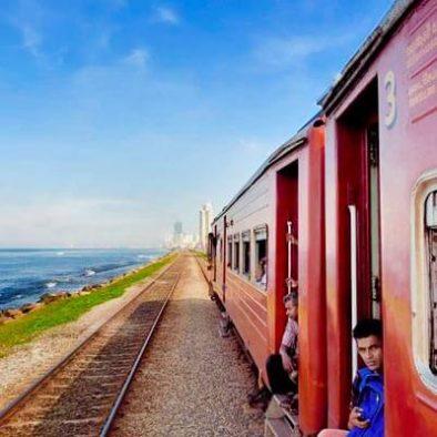 Galle nach Colombo (mit dem Zug)