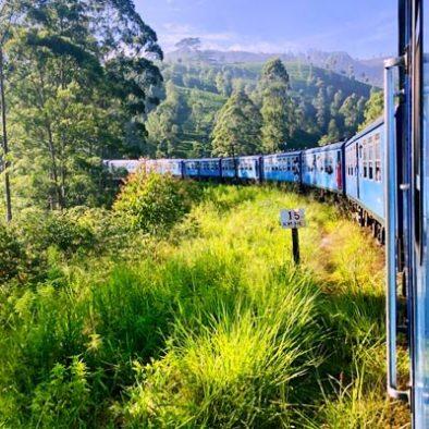 Kandy nach Nanu Oya (mit dem Zug)