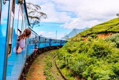 Bahn Rundreise in Sri Lanka