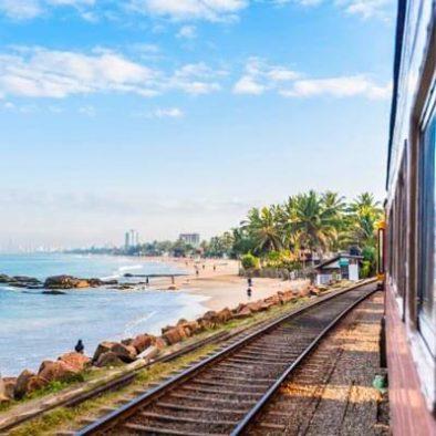 Zug nach Colombo
