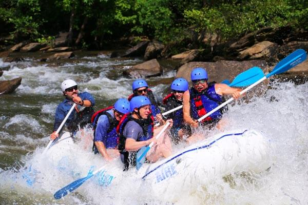Kithulgala Wildwasser-Rafting